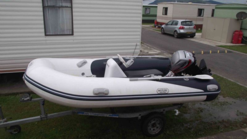 Rib for sale 3.2 with console