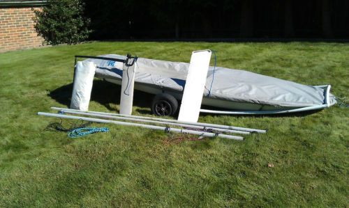 Topper sailing dinghy just in